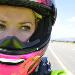 Brittany Morrow Roadrash Queen Bee Motorcycle Rider Woman Motivation Inspiration