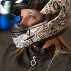 Brittany Morrow Roadrash Queen Motorcycle Rider Woman