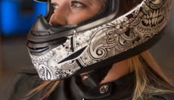 Brittany Morrow Roadrash Queen Motorcycle Rider Woman
